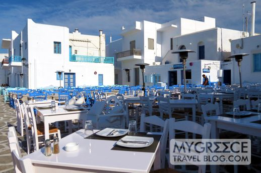 restaurants in Naoussa on Paros