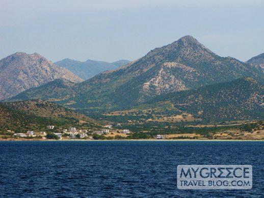 Naxos mountains