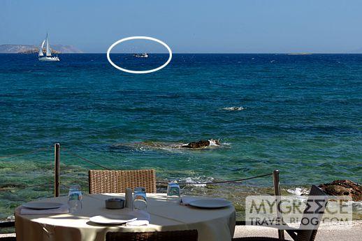 Varkiza Bay in Attica Greece