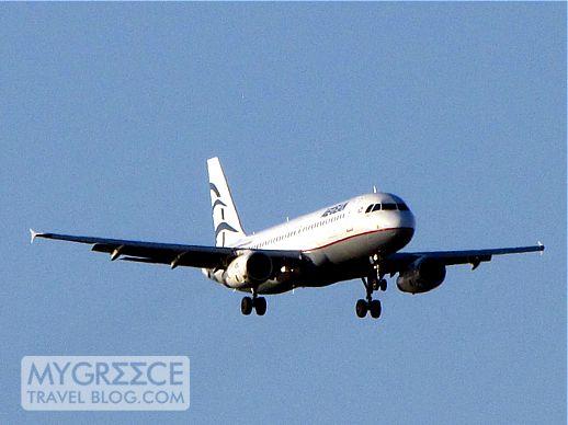 Aegean Airlines jet