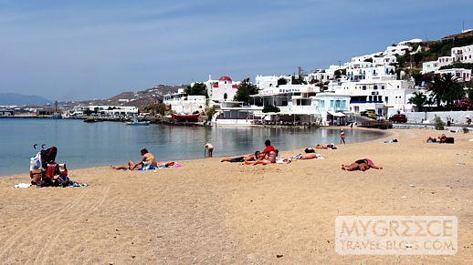 Agia Anna beach Mykonos Town