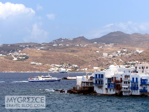 Delos Express excursion boat
