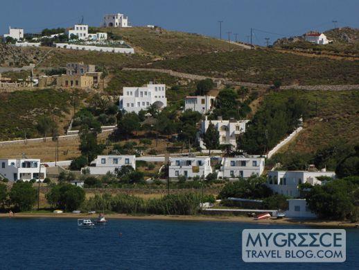 Sapsila beach and bay Patmos
