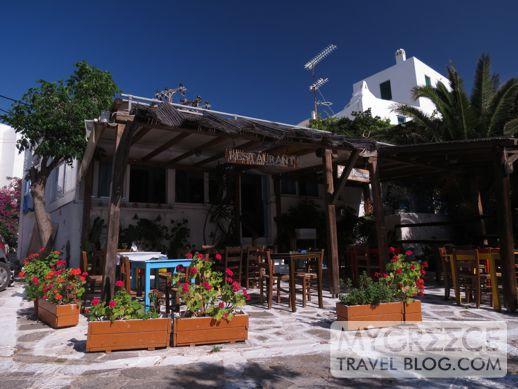 Maria's traditional Myconian restaurant