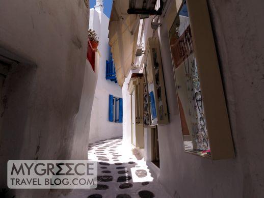 jewellery shop in Mykonos