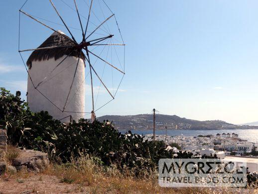 Bonis windmill in Mykonos
