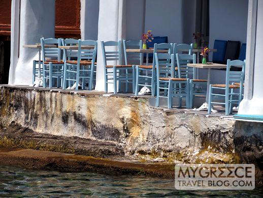 Veranda Bar at Little Venice Mykonos