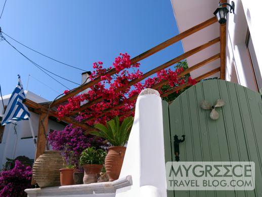 a house in Mykonos Town