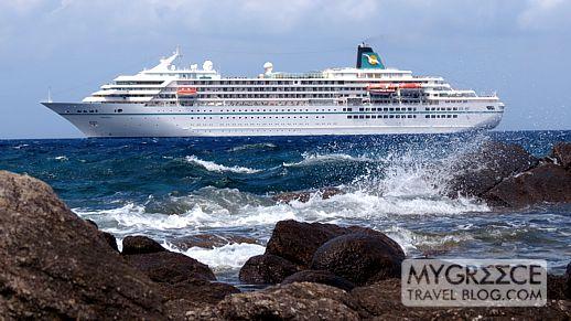 Greek Holiday Trip Report Mykonos Part MY GREECE TRAVEL - Cruise ship amadea