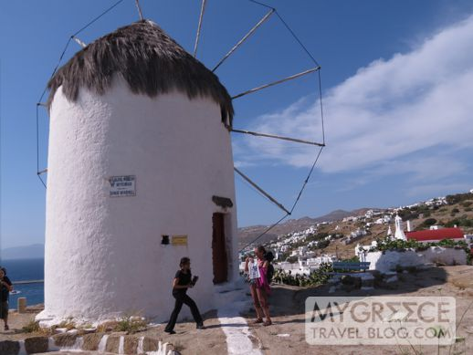 Bonis windmill on Mykonos