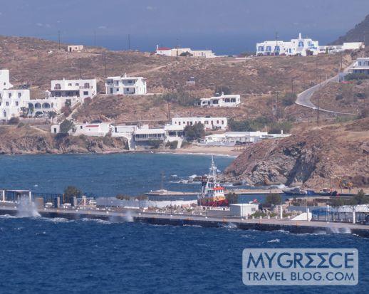 Mykonos New Port at Tourlos