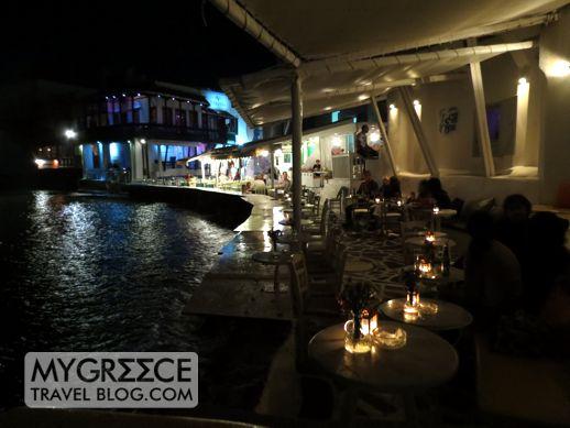Little Venice seaside cocktail bars