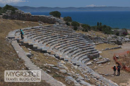 ancient amphitheatre at Thorikos