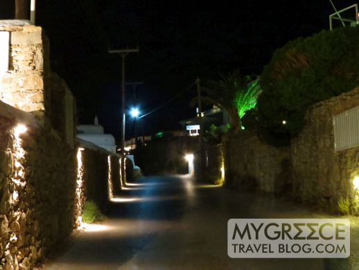 the road to Hotel Tagoo