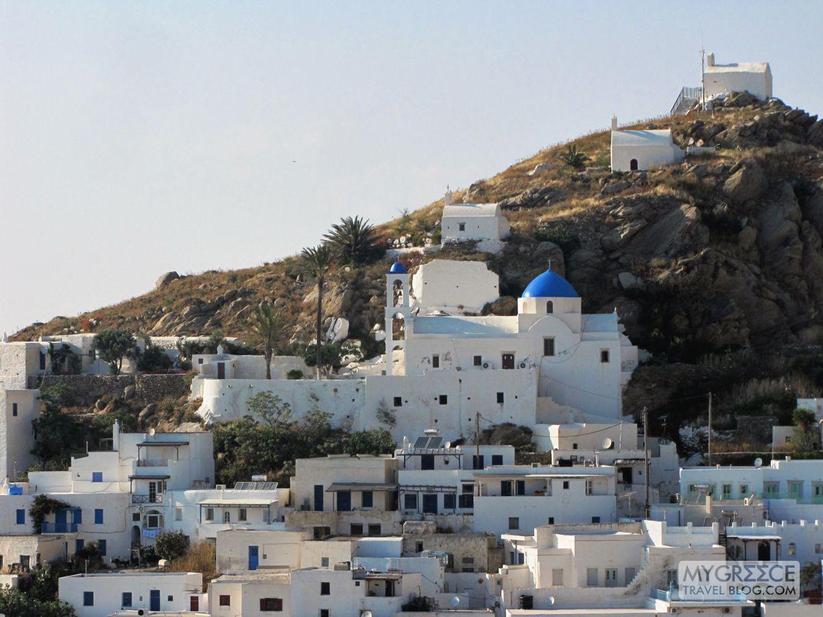 Chora's four churches