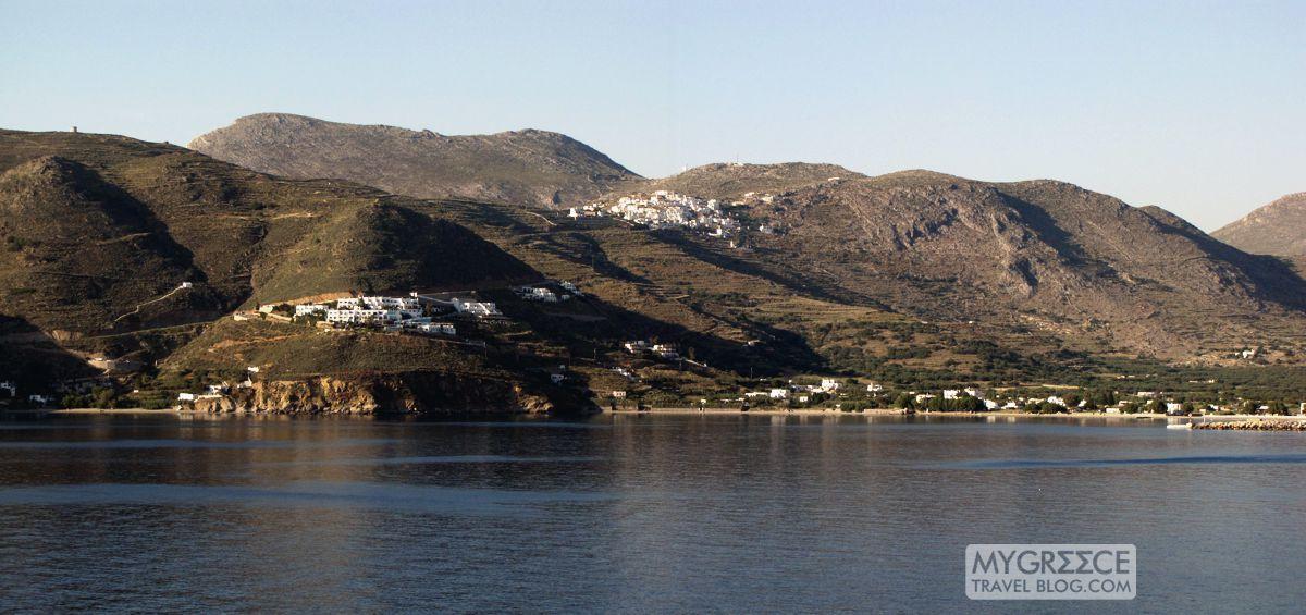 Aegiali bay view of Tholaria 1200 px