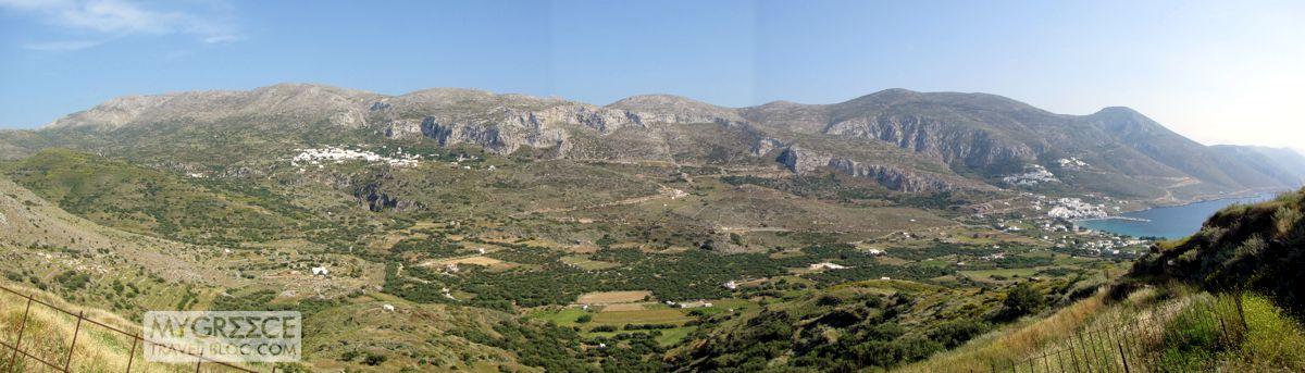 Aegiali valley