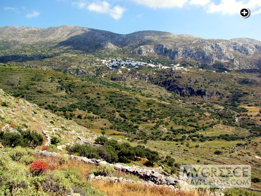 Aegiali valley on Amorgos