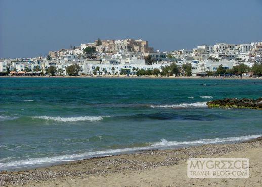 Agios Georgios beach Naxos Town