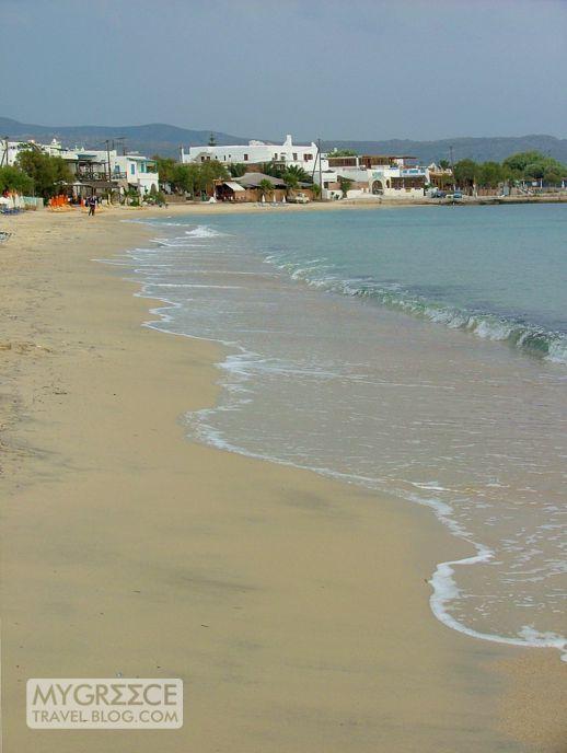 Agios Prokopios beach Naxo