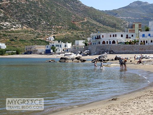 Apolonas beach Naxos