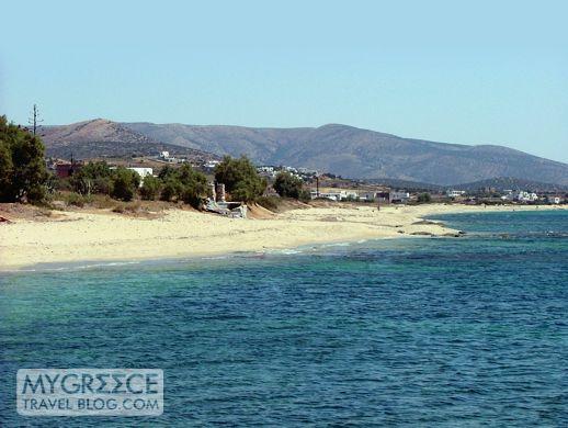 Kastraki beach Naxos