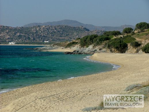 Mikri Vigla beach Naxos