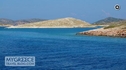 islands near Arki Greece