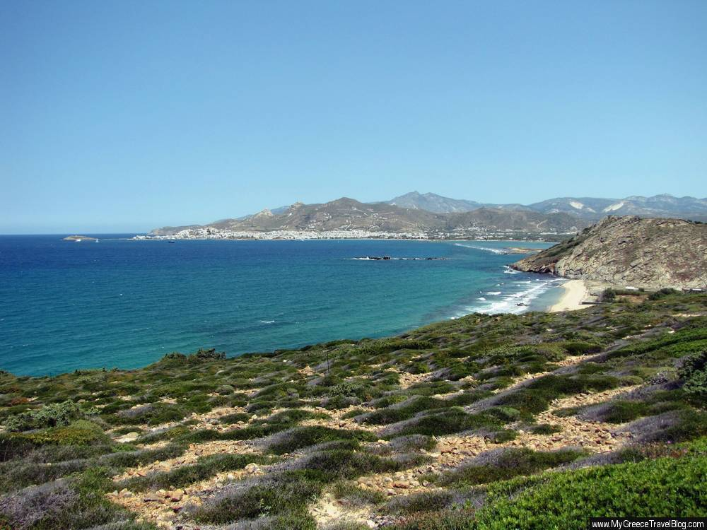 Hohlakas beach Naxos
