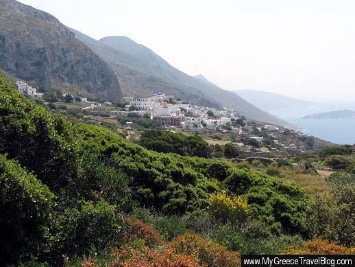 Lagada village Amorgos
