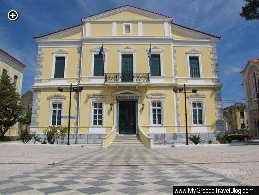 Town Hall in Vathi Samos