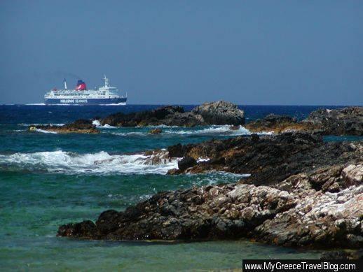 a Hellenic Seaways ferry
