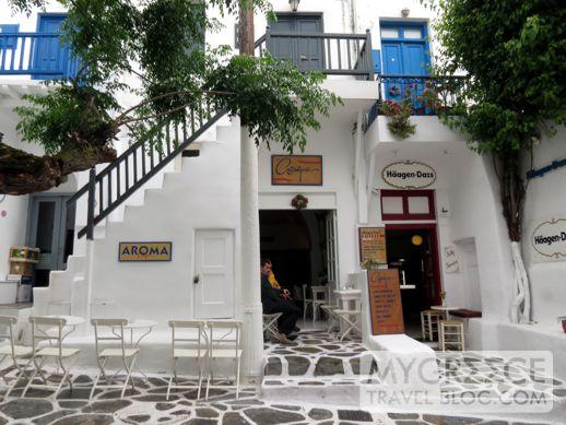 Aroma cafe Mykonos Town