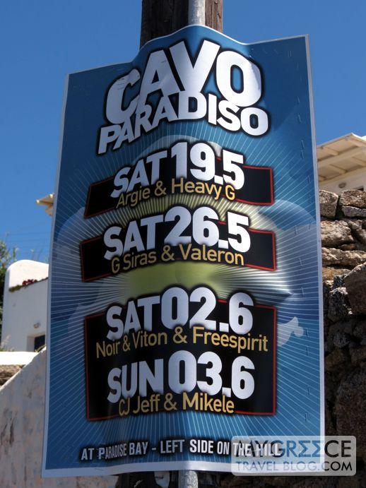 Cavo Paradiso Mykonos