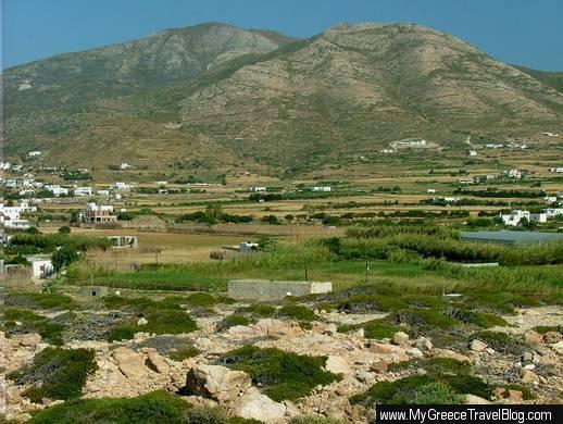 Paros countryside