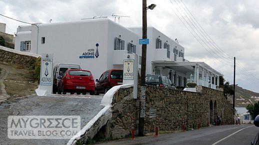 Hotel Adonis Mykonos