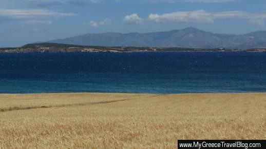 field near Monastiri beach