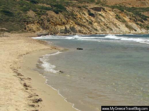 Stelida beach