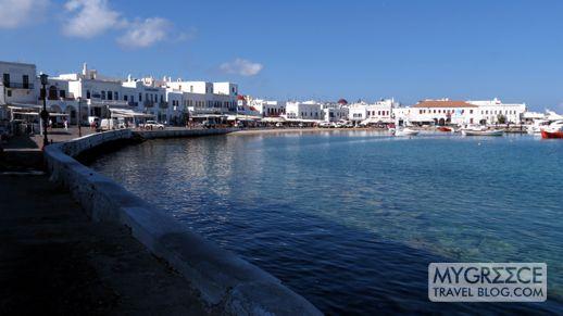 Mykonos Town harbourfront