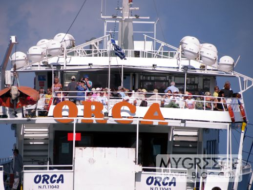 Orca excursion boat