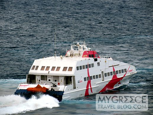 SeaJet 2 highspeed ferry