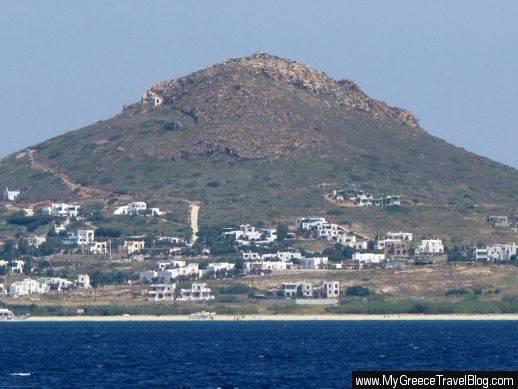 Stelida area of Naxos