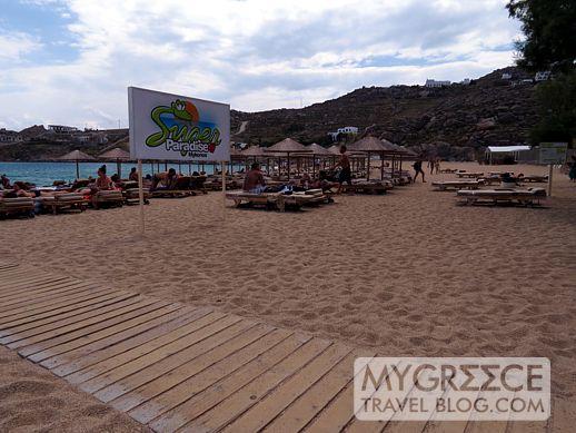 Super Paradise beach Mykonos