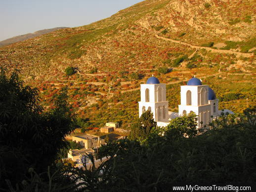church on Amorgos