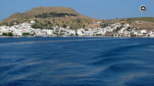 Skala harbour on Patmos