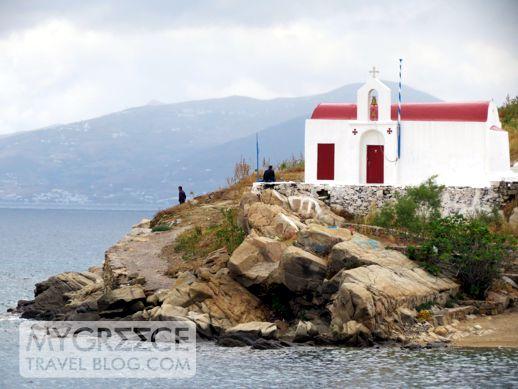 Mykonos Town seaside