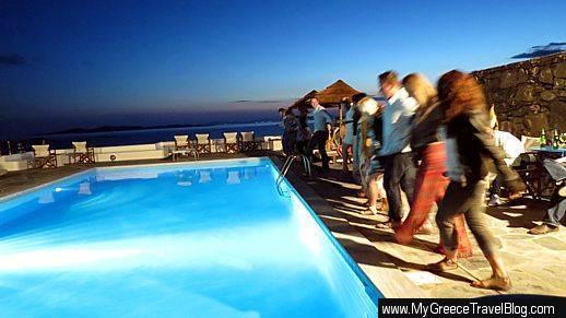 Hotel Tagoo Greek Night