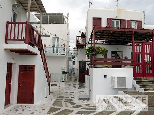 Mykonos Town street