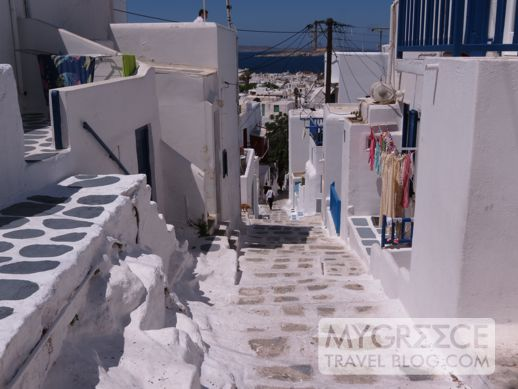 Agios Spiridonos street