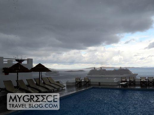 Mykonos thunderstorm